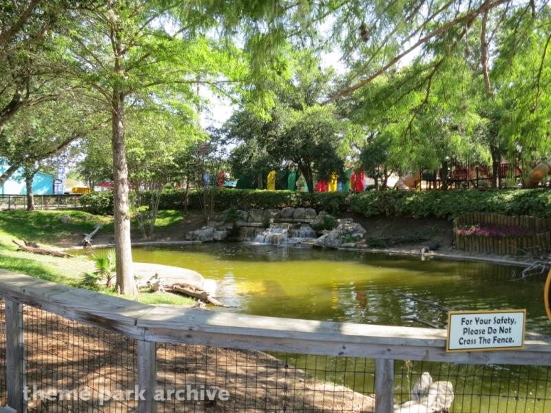 Alligator Alley at SeaWorld San Antonio