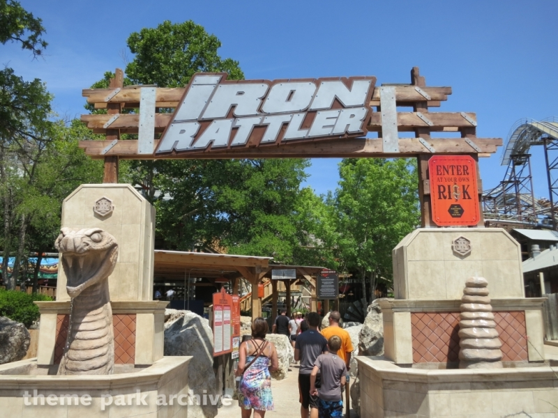 Iron Rattler at Six Flags Fiesta Texas