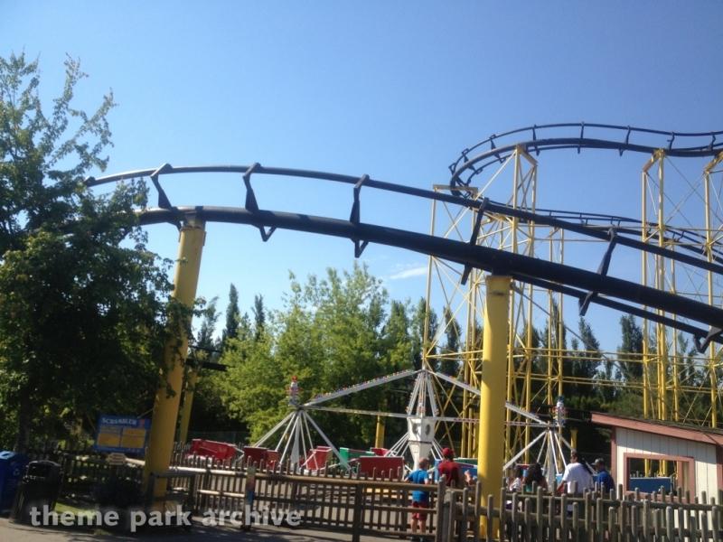 Scrambler at Silverwood Theme Park and Boulder Beach Waterpark