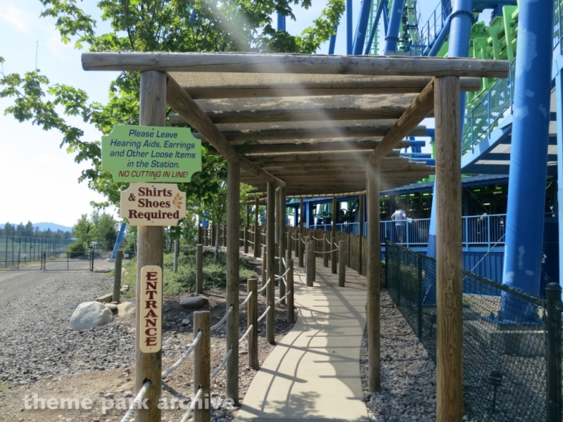 Aftershock at Silverwood Theme Park and Boulder Beach Waterpark