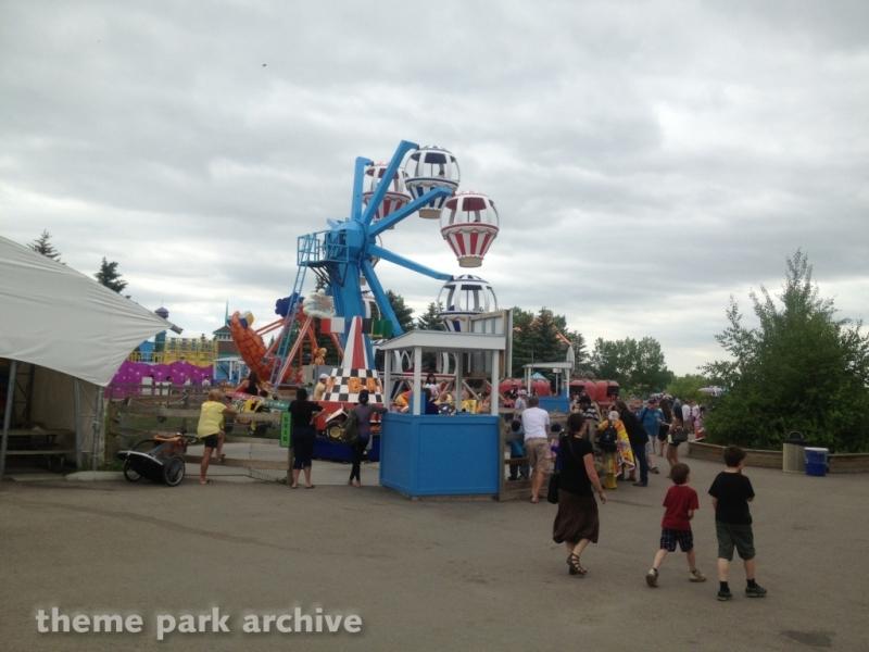 Balloon Ascension at Calaway Park