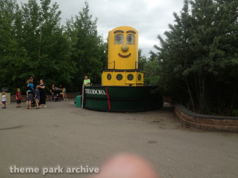 Theodore Tugboat at Calaway Park