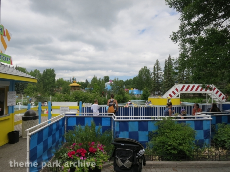 Bumper Boat Splash Challenge at Calaway Park