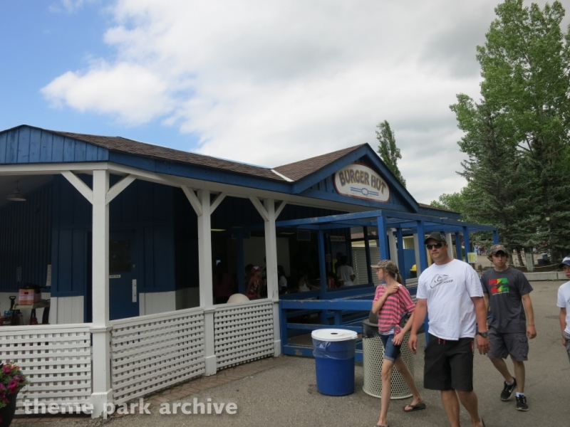 Burger Hut at Calaway Park
