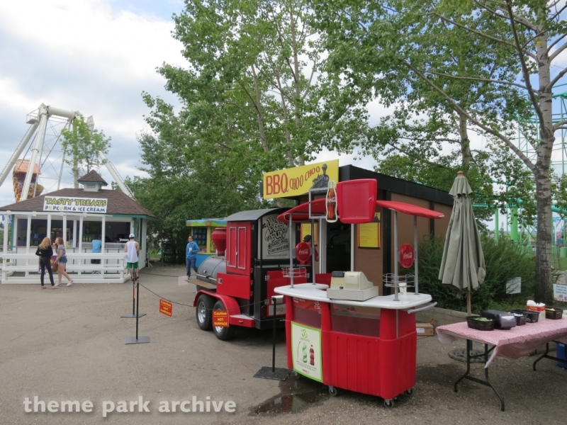 BBQ Choo Choo at Calaway Park