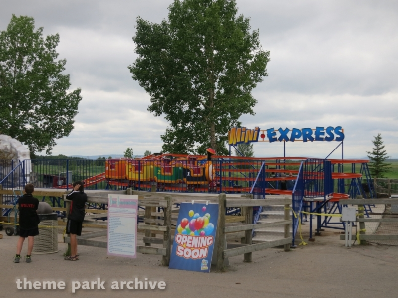 Mini Express at Calaway Park