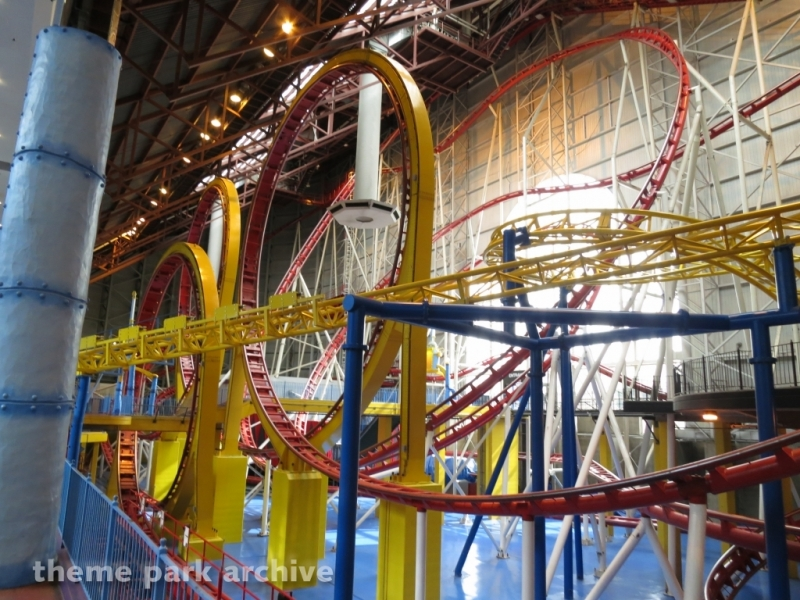 Mindbender at Galaxyland