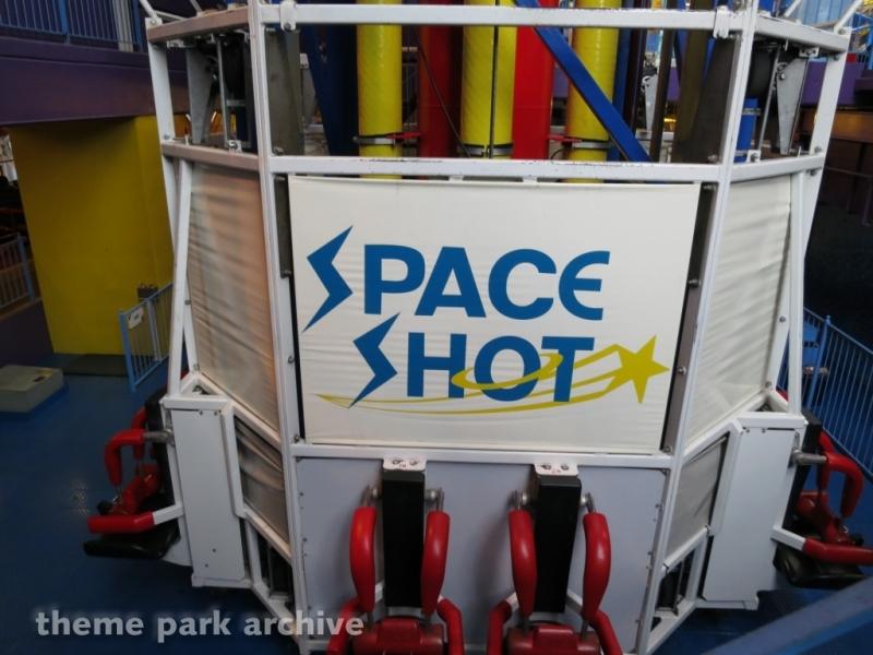 Space Shot at Galaxyland