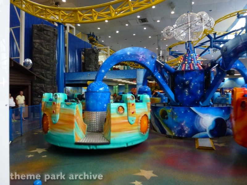 Cosmic Spinner at Galaxyland
