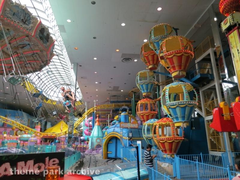 Balloon Race at Galaxyland