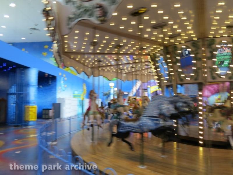 Carousel at Galaxyland