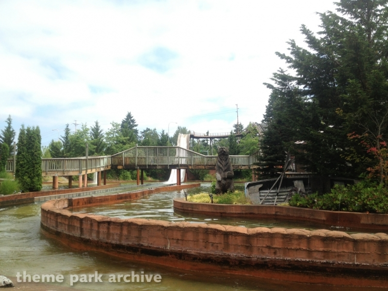 Lumberjack Falls at Wild Waves Theme Park