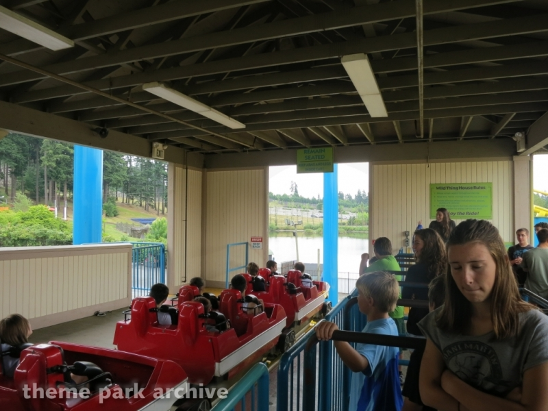 The Wild Thing at Wild Waves Theme Park