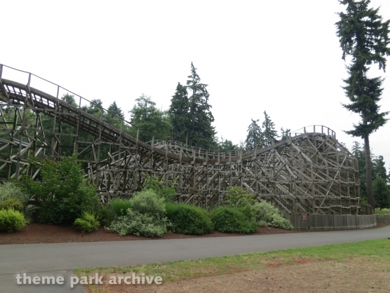 Timberhawk at Wild Waves Theme Park