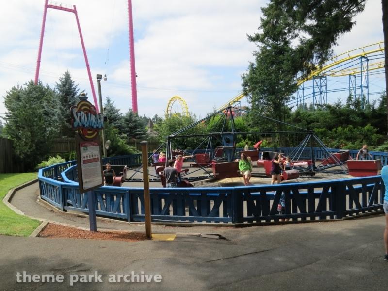 Scrambler at Wild Waves Theme Park
