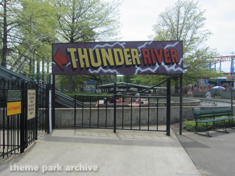 Thunder River at Waldameer Park