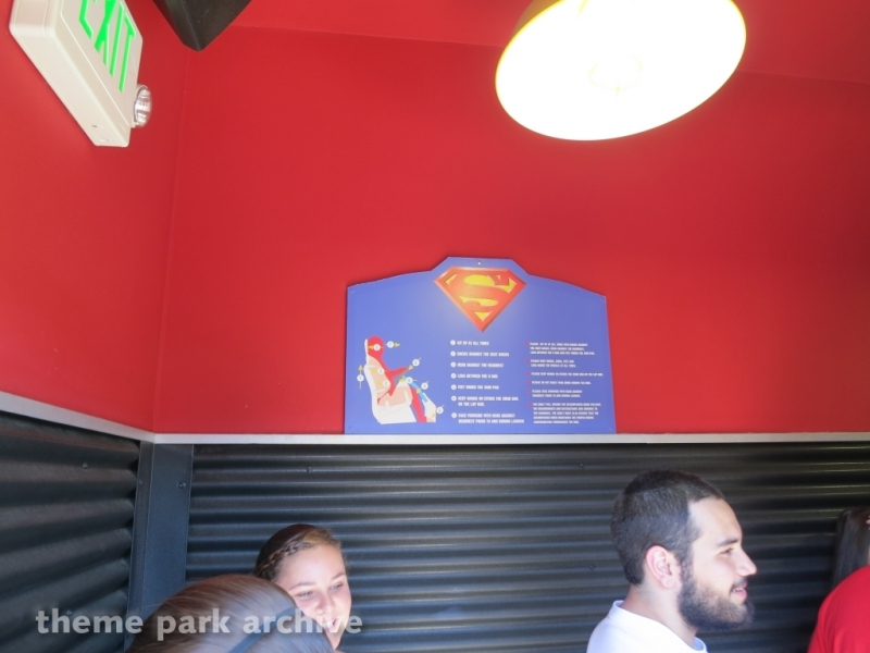 Superman: Ultimate Flight at Six Flags Discovery Kingdom