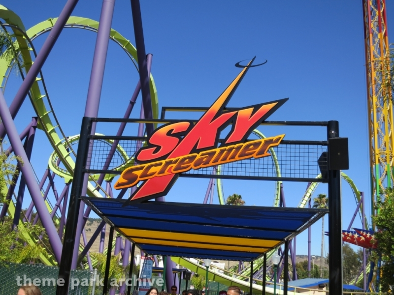 SkyScreamer at Six Flags Discovery Kingdom