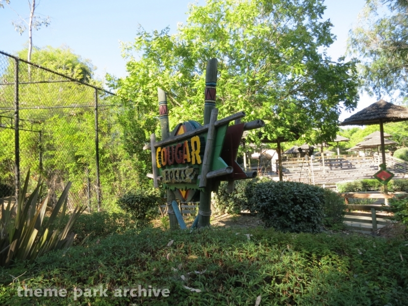 Cougar Rocks at Six Flags Discovery Kingdom