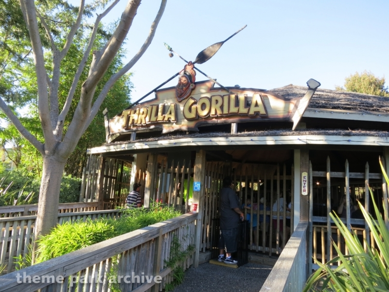 Thrilla Gorilla at Six Flags Discovery Kingdom