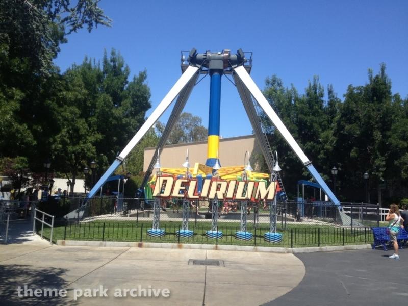 Delirium at California's Great America