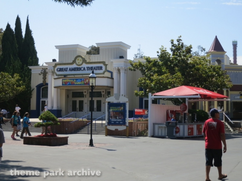 Great America Theater at California's Great America