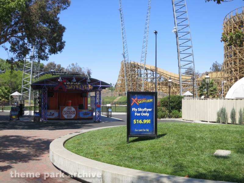 Xtreme Skyflyer at California's Great America