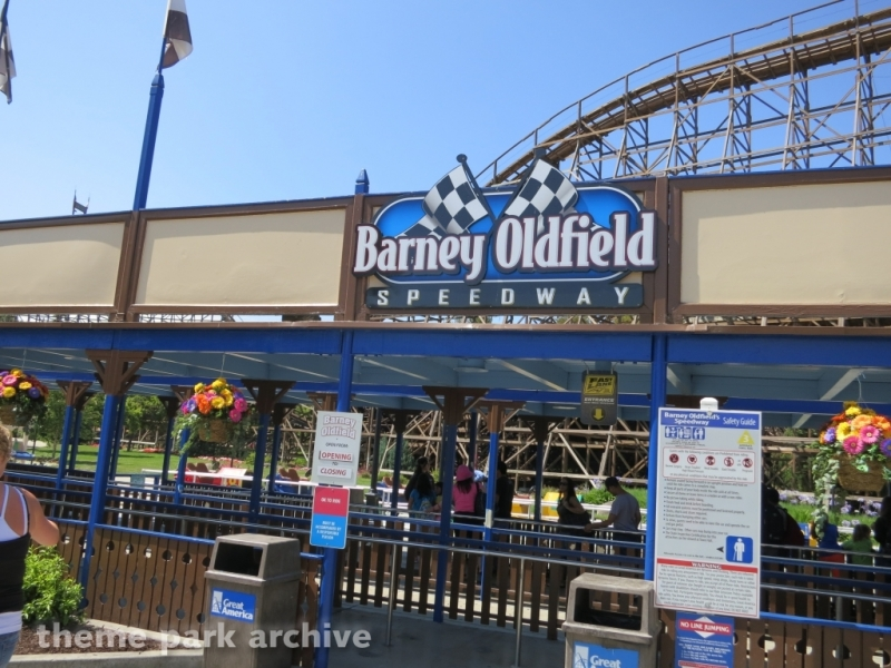 Barney Oldfield Speedway at California's Great America