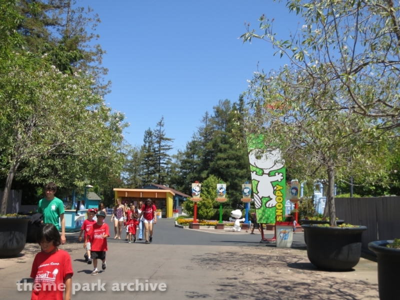 Planet Snoopy at California's Great America