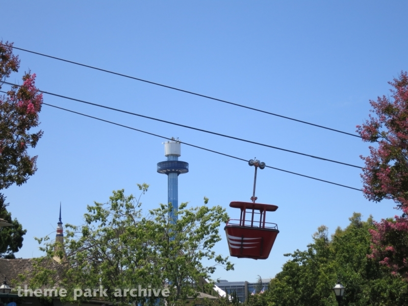 Delta Flyer and Eagle's Flight at California's Great America