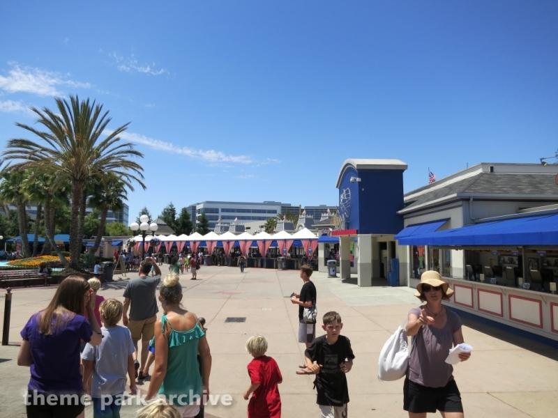 Celebration Plaza at California's Great America