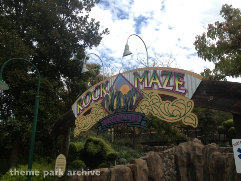 Pinnacles Rock Maze at Gilroy Gardens
