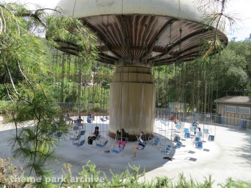 Mushroom Swing at Gilroy Gardens