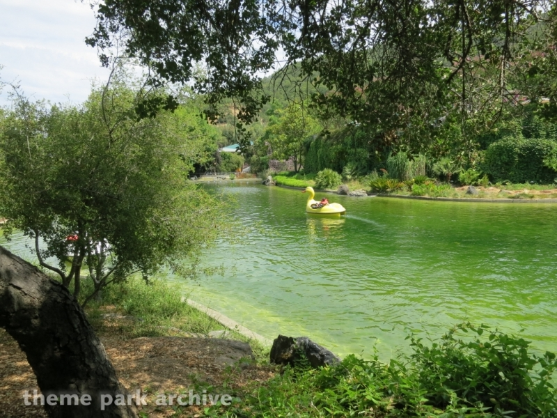 Paddle Boats at Gilroy Gardens
