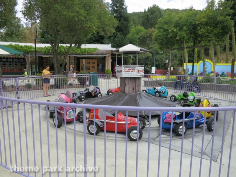 Pit Stop Racers at Gilroy Gardens