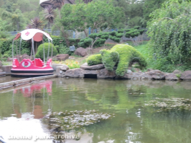 Rainbow Garden Boat Ride at Gilroy Gardens