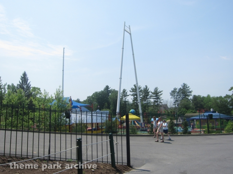 Skycoaster at Great Escape & Splashwater Kingdom
