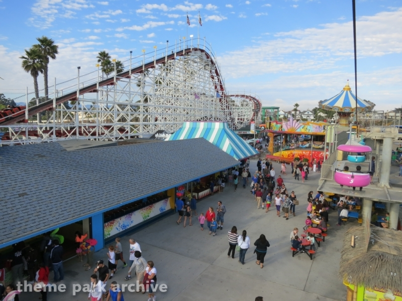 Giant Dipper at Santa Cruz Beach Boardwalk