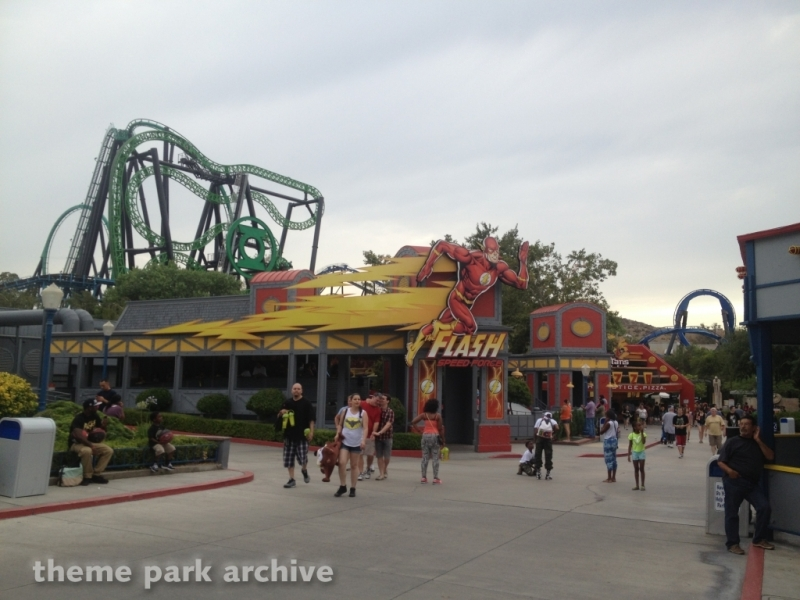 The Flash: Speed Force at Six Flags Magic Mountain