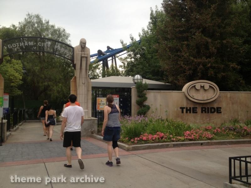 Batman The Ride at Six Flags Magic Mountain