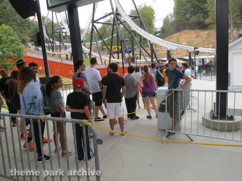 Full Throttle at Six Flags Magic Mountain