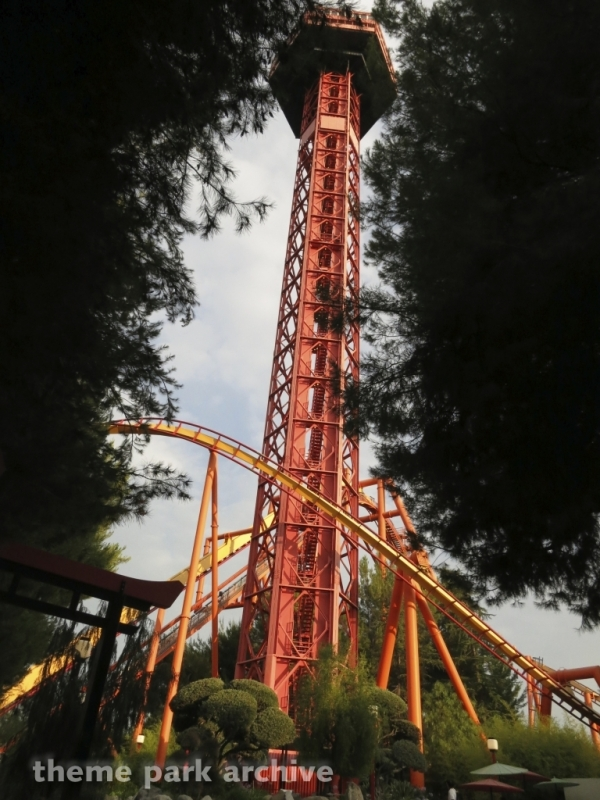 Sky Tower at Six Flags Magic Mountain