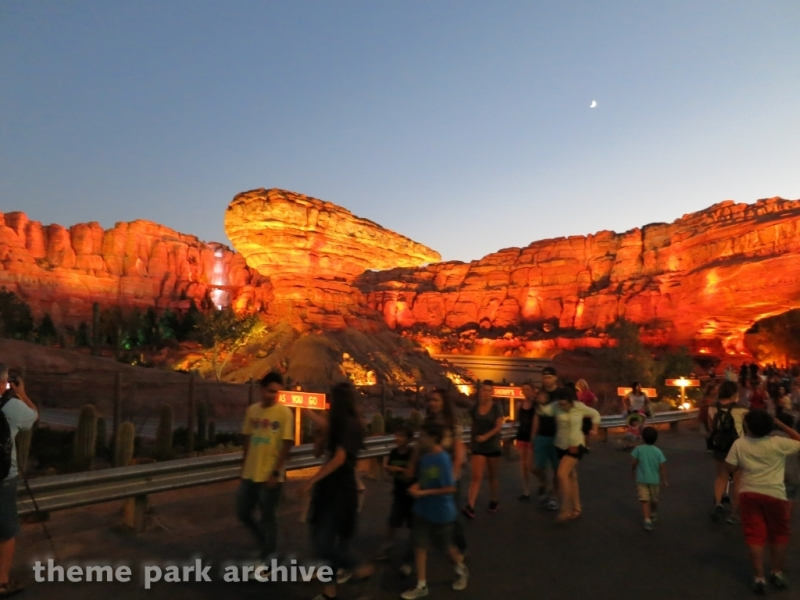 Radiator Springs Racers at Disney California Adventure