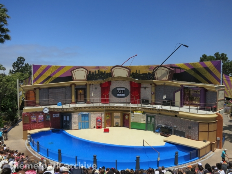 Sea Lion and Otter Stadium at Sea World San Diego