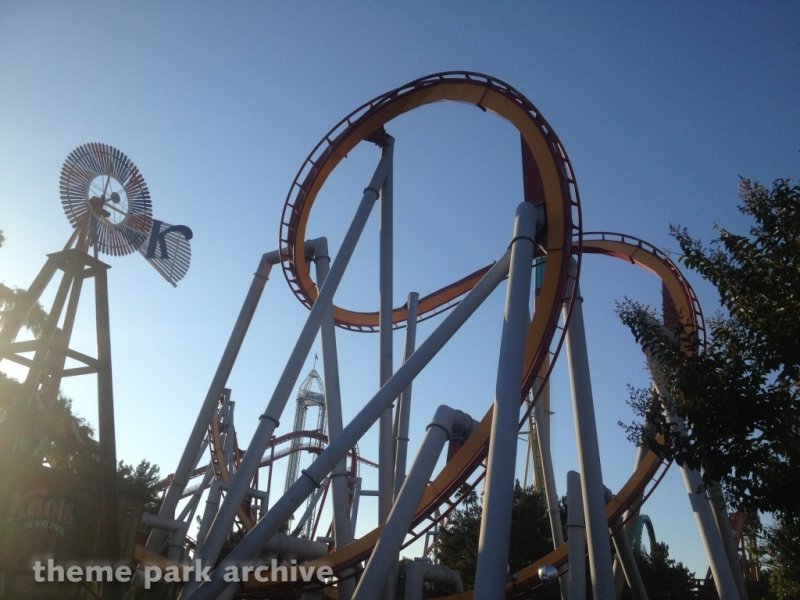 Silver Bullet at Knott's Berry Farm