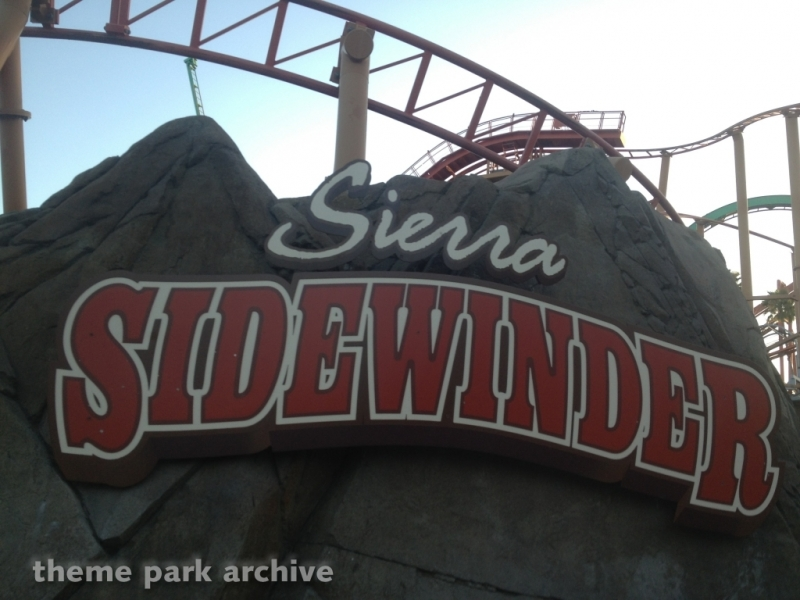 Sierra Sidewinder at Knott's Berry Farm