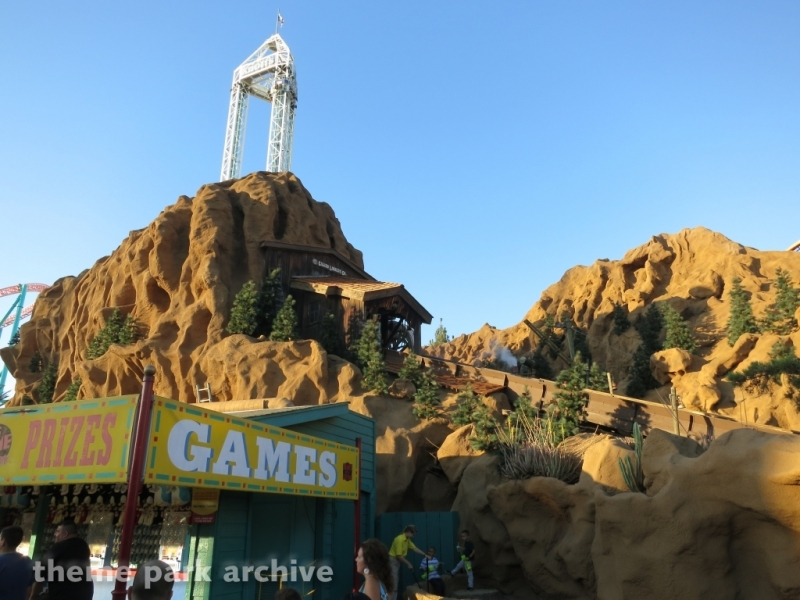 Timber Mountain Log Ride at Knott's Berry Farm