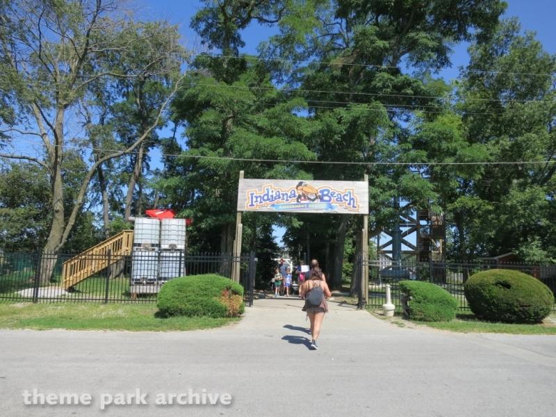 Main Entrance at Indiana Beach