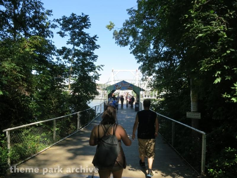 Suspension Bridge at Indiana Beach