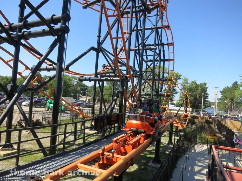 Steel Hawg at Indiana Beach